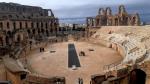 Restauration de l'amphithéâtre d'El Jem