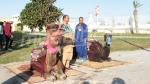 'AMERA'  ترسو في ميناء حلق الوادي