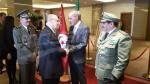 شخصيات وطنية تشارك في الاحتفالات بعيد الثورة الجزائرية
