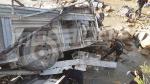 مكان حادث إنقلاب حافلة في عمدون