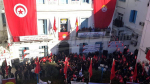تجمع عمالي بمناسبة الذكرى التاسعة للثورة