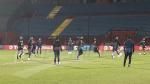 La dernière séance d'entraînement de l'ESS avant le match d'Al Ahly