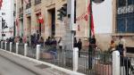 Les rues de la capitale au 2ème jour de confinement