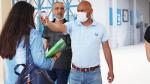 Mohamed Hamdi supervise le retour des élèves du baccalauréat