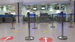Les ministres dénués transport et du Tourisme à l'aéroport Tunis-Carthage