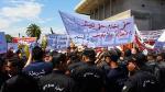 ساحة باردو: وقفة احتجاجية للمُصادقة على مشروع قانون تشغيل المعطّلين منذ 10 سنوات