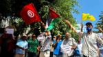 Normalisation avec l'entité sioniste : Sit-in en face de l'ambassade des Émirats arabes unis de Tunis