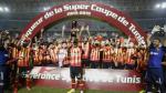 L'Espérance remporte sa 5e super coupe de Tunisie