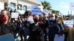 Les journalistes protestent contre l'amendement du décret-loi 116