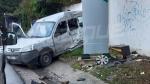 Un bus percute un mur à Mutuelleville