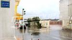 Les rues de la capitale après la pluie